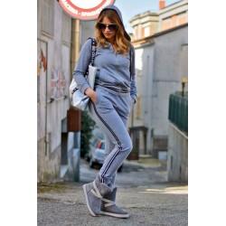 PDK - Tuta coordinata fashion grigia
