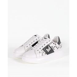 Gio Cellini - Sneakers rialzate con borchie
