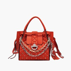 La Carrie - Bag secchiello quadrato arancio