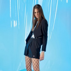 Onyx - Completo nero giacca e pantaloncino