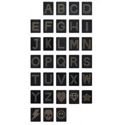 Lettere e simboli disponibili