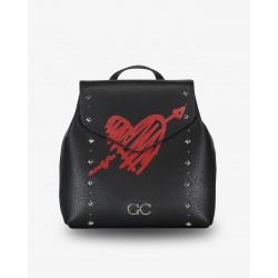Gio Cellini - Zaino cuore rosso con freccia