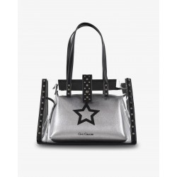 Gio Cellini - Shopper in PVC con stella