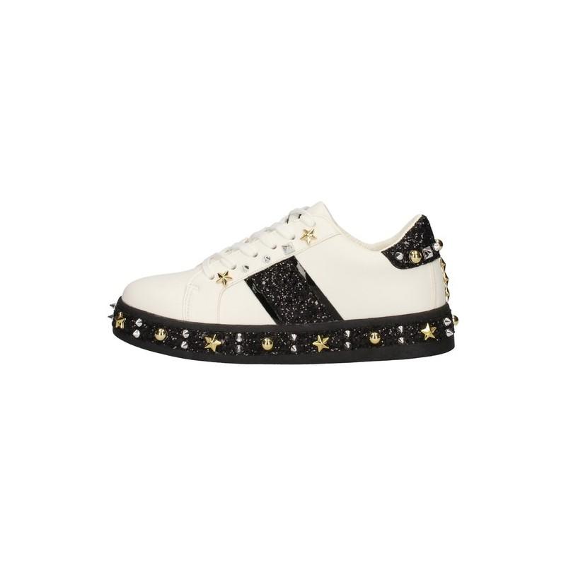 Gio Cellini - Sneakers borchie oro e argento