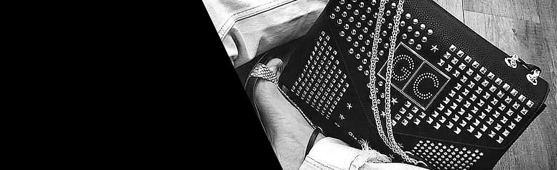 Una borsa Gio Cellini personalizzata con le iniziali del vostro nome